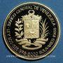 Coins Vénézuela. République. 5000 bolivares 1988. Raphaël Urdaneta. (PTL 900‰. 15,55 g)