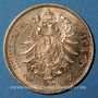 Coins Wurtemberg. Charles I (1864-1891). 10 mark 1873 F. (PTL 900‰. 3,98 g)