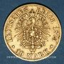 Coins Wurtemberg. Charles I (1864-1891). 10 mark 1875 F. (PTL 900‰. 3,98 g)