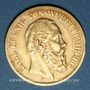 Coins Wurtemberg. Charles I (1864-1891). 10 mark 1875F. (PTL 900/1000. 3,98 g)