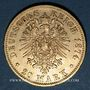 Coins Wurtemberg. Charles I (1864-1891). 20 mark 1874F. (PTL 900/1000. 7,96 g)