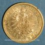 Coins Wurtemberg. Charles I (1864-1891). 20 mark 1876 F. (PTL 900‰. 7,96 g)