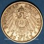 Coins Wurtemberg. Guillaume II (1891-1918). 20 mark 1897 F. (PTL 900‰. 7,96 g)