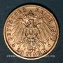 Coins Wurtemberg. Guillaume II (1891-1918). 20 mark 1900F. (PTL 900/1000. 7,96 g)