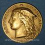 Coins Algérie. Mascara. Concours Général Agricole de l'Algérie et de la Tunisie. 1898. Médaille or. 33,1mm