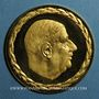 Coins Charles de Gaulle (1890-1970). Médaille or. 34 mm. 999 /1000. 16,60 gr