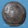 Coins Arabie Heureuse. Les Himyarites. Amdan Bayyan Yuhaqbid (vers 100-120). 1/2 denier léger. Raidan
