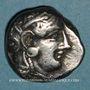 Coins Attique. Athènes. Tétradrachme, vers 255-229 av. J-C