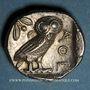 Coins Attique. Athènes (vers 365-359 av. J-C). Tétradrachme