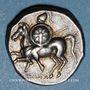 Coins Calabre. Tarente (vers 281-272 av. J-C). Didrachme