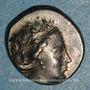 Coins Eubée. Histiée. 3e siècle - début 2e siècle av. J-C. TI, magistrat. Tétrobole