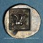 Coins Iles de Carie. Rhodes. Antaios, magistrat. Hémidrachme, 125-88 av. J-C