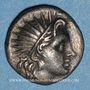 Coins Iles de Carie. Rhodes (vers 190-170 av. J-C). Aristobole, magistrat. Drachme