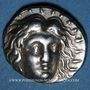 Coins Iles de Carie. Rhodes (vers 205-188 av. J-C). Tarsitas, magistrat, didrachme