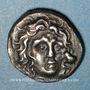 Coins Iles de Carie. Rhodes (vers 304-189 av. J-C). Drachme