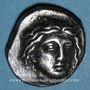 Coins Iles de Carie. Rhodes (vers 340-320 av. J-C). Didrachme
