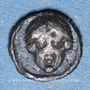 Coins Ionie. Mylasa (vers 420-390 av. j-C). Tétartémorion