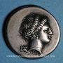 Coins Italie. Campanie. Neapolis. Didrachme, vers 325-241 av. J-C