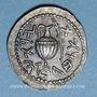 Coins Judée. 2e révolte juive - Révolte de Bar Kokhba (132-135). Denier ou zuz, n. d. (an 3)