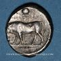 Coins Lucanie. Posidonia. Statère, vers 540-480 av. J-C