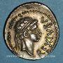 Coins Numidie. Juba II (25 av. - 24 ap. J-C). Denier. Césarée