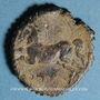 Coins Numidie. Massinissa (203-148 av. J-C) ou Micipsa (148-118 av. J-C). Monnaie de plomb dentelée