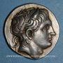 Coins Roy. de Macédoine. Démetrios I Poliorcète (294-288 av. J-C). Tétradrachme. Amphipolis, 289-88 av. JC