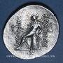 Coins Roy. de Syrie. Antiochus IV Epiphanes (175-164 av. J-C). Tétradrachme. Antioche, 175-173/2 av J-C