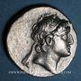 Coins Royaume de Cappadoce. Ariarathes VI Epiphane Philopator (130-115 av. J-C). Drachme, an 15
