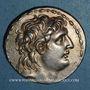 Coins Royaume de Syrie. Antiochus VII Evergète Sidètes (138-129 av. J-C). Tétradrachme. Antioche