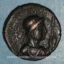 Coins Royaume des Kouchans. Vima Taktu le Grand Sauveur (Soter Megas, vers 55-105). Tétradrachme, Taxila
