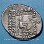 Coins Royaume des Parthes, Orodes I (90-77 av. J-C), drachme, Ecbatane.