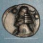 Coins Royaume des Parthes. Orodes II (57-38 av. J-C). Drachme. Ecbatane
