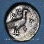 Coins Sicile. Agrigente. Didrachme, vers 480-470 av. J-C