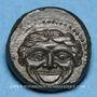 Coins Sicile. Camarina (vers 420-410 av. J-C). Tétras