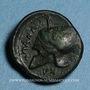 Coins Sicile. Entella. Mercenaires Campaniens. Vers 342-339 av. J-C. Bronze