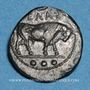 Coins Sicile. Géla (vers 420-405 av. J-C). Tétras