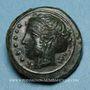 Coins Sicile. Himère. Hémilitron ou hexonkion, vers 415-409 av. J-C
