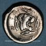 Coins Sicile. Léontini. Didrachme, 500-466 av. J-C