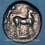 Coins Sicile. Messine. Tétradrachme, 425-421 av. J-C