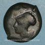 Coins Sicile. Syracuse. Dyonisos I (405-367 av. J-C). Drachme de bronze