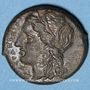 Coins Sicile. Syracuse. Hicetas (287-278 av. J-C). Bronze