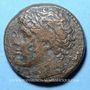 Coins Sicile. Syracuse. Hiéron II (275-216 av. J-C). Bronze