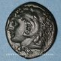 Coins Sicile. Syracuse. Pyrrhus d'Epire, vers 278-276 av. J-C. Bronze. 21,32-23,64 mm