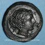 Coins Sicile. Syracuse (vers 415-405 av. J-C). Tétras