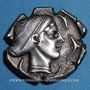 Coins Sicile. Syracuse (vers 450-439 av. J-C). Tétradrachme