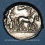 Coins Sicile. Syracuse (vers 485- 479 av. J-C). Tétradrachme