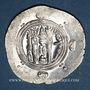 Coins Tabaristan, Gouverneurs Abbassides, Monnayage anonyme à la légende Abzüd, drachme PYE 136
