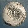 Coins Afghanistan. Shahs du Khwarezm. Muhammad (596-617H). Dirham, sans attribution. (Balkh ?)