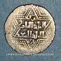 Coins al-Jazira. Ortoquides de Mardin. Ghazi I (637-658H). Ar. Dirham, (Mardin)